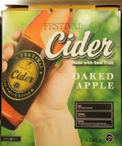 Festival Oaked Apple Cider 4.5 Kg 40 Pint Kit
